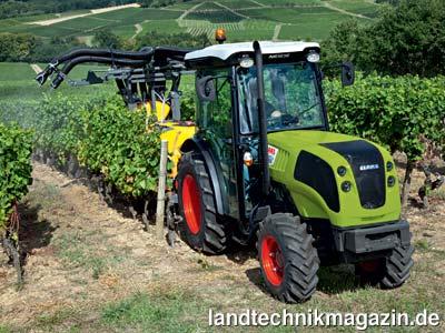 nexos der neue obst und weinbau traktor von claas traktoren magazin f r landtechnik und. Black Bedroom Furniture Sets. Home Design Ideas