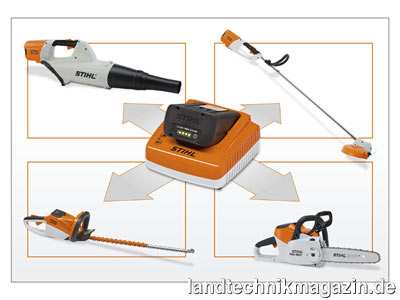 bild 2 neben den akku heckenscheren stihl hsa 65 und hsa. Black Bedroom Furniture Sets. Home Design Ideas