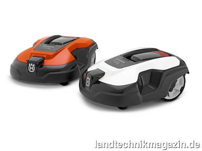 bild 1 die neuen automower modelle 310 und 315 mit einer fl chenleistung nach herstellerangaben. Black Bedroom Furniture Sets. Home Design Ideas