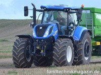 Die neue Generation der New Holland T7 LWB Traktor