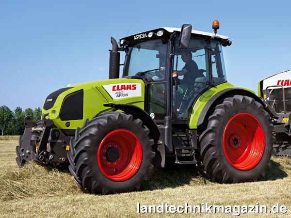 XL-Bild 1: Die Neue Claas Traktoren-Serie ARION 400