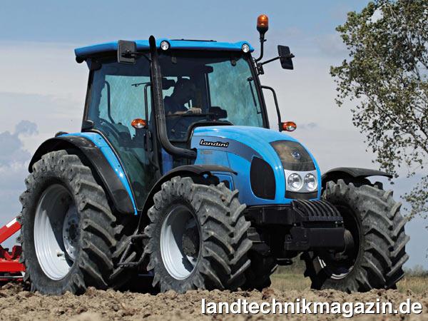 xl bild 1 die neue serie 5 ist eine der ersten landini traktoren serien bei der die neuen. Black Bedroom Furniture Sets. Home Design Ideas