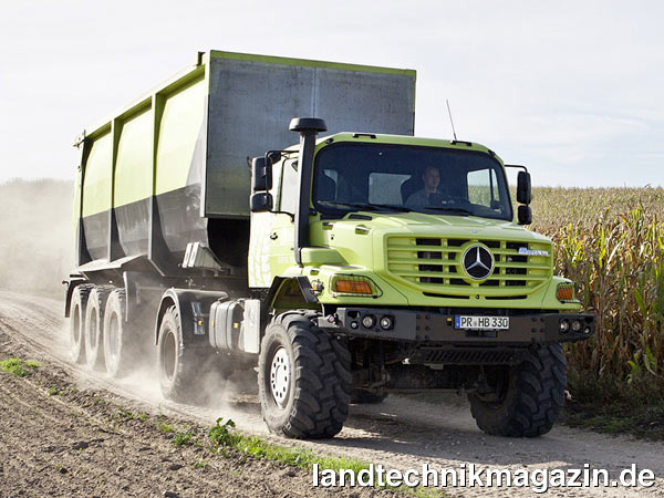 Berühmt XL-Bild 1: Premiere auf der Agritechnica 2011 hat der Mercedes @KE_48