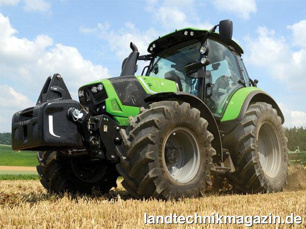 xl bild 1 die drei neuen deutz fahr 4 zylinder traktoren. Black Bedroom Furniture Sets. Home Design Ideas