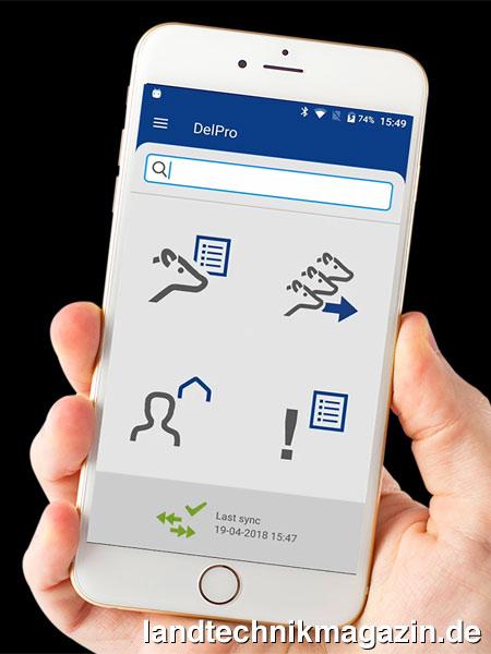 XL-Bild 1: Mit Der Neuen Herdenmanagement-App DelPro